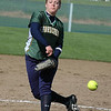 For the Enterprise/John Kossik<br /> Annie Collins of Shorecrest pitches against Ferndale in their first game of the District 1 3A fastpitch Tournament