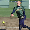For the Enterprise/John Kossik<br /> Annie Collins of Shorecrest pitches against Mount Vernon in their second game of the District 1 3A fastpitch Tournament
