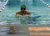 For the Enterprise/John Kossik<br /> Ali Adabi in the breststroke leg of the 200 Individual Medley