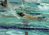 For the Enterprise/John Kossik<br /> Ali Adabi in the 100 backstroke for Edmonds-Woodway