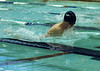 For the Enterprise/John Kossik<br /> Michael Keane in the 100 breststroke for Meadowdale