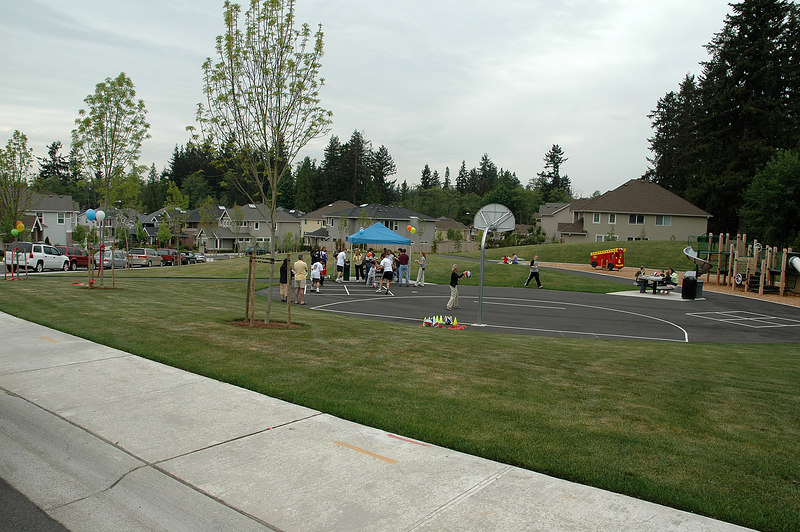 For the Enterprise/John Kossik<br /> Mill Creek's new Hillside Park, already seeing use by the community.