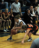 For the Enterprise/John Kossik<br /> Eryn Jones and Monroe's Keena Hopkins fight for the loose ball
