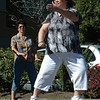 For the Enterprise/John Kossik<br /> Nancy Lucero demonstrates tai chi at Mill Creek Senior Center Birthday Party