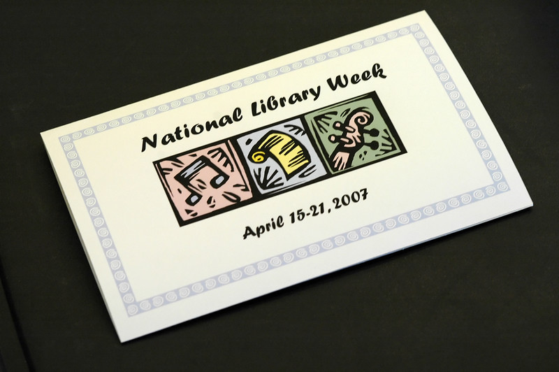 For the Enterprise/John Kossik<br /> National Library Week being celebrated at Lynnwood Library