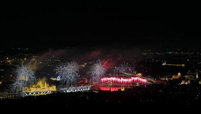 St. Stephen's Day Firework — Augusztus 20-i tűzijáték