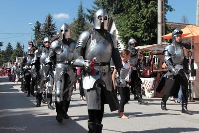 Knights' Procession — A lovagok felvonulása
