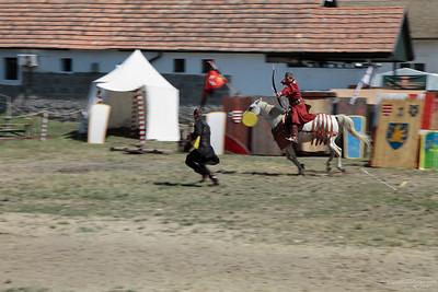 Kassai Lajos Mounted Archer Show — Kassai Lajos lovasíjász bemutatója