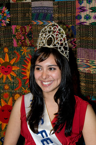 Guatemala  and Festival Latino Beauty Queen Karin Donis