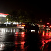 Cars wait in line to fill up at Exxon across from Stonecrest Shopping center on Rea Rd..
