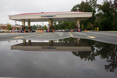 Costco in Matthews is out of gas.