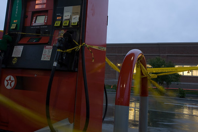No gas left at Petro Express in Blakeney Shopping center on Rea Rd..