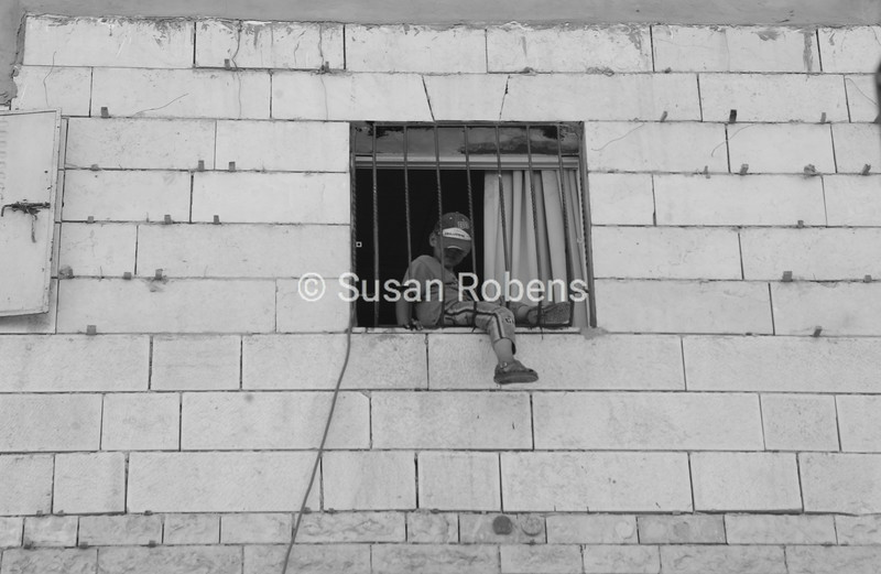 Boy and a Window