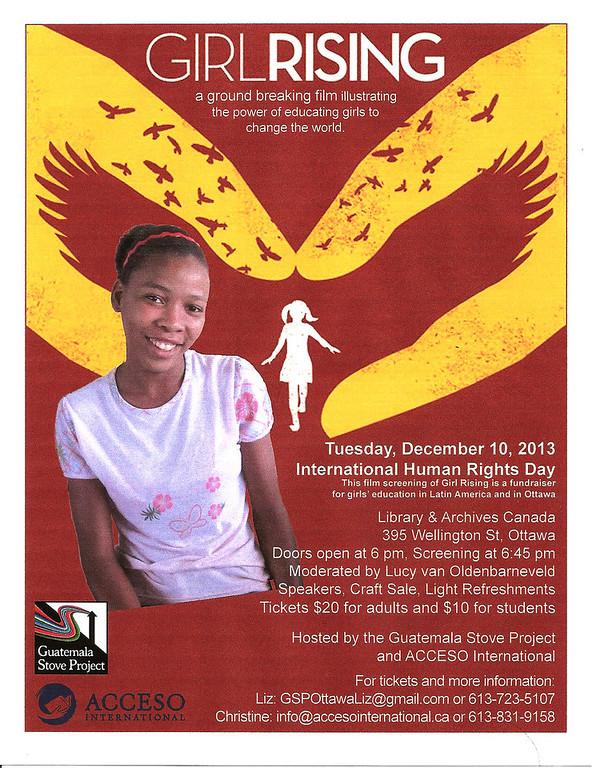 Girl Rising Event