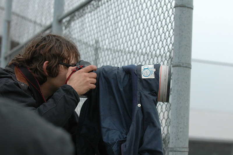Guy from the Herald, big lens, but it is not how big your lens is its how you use it!