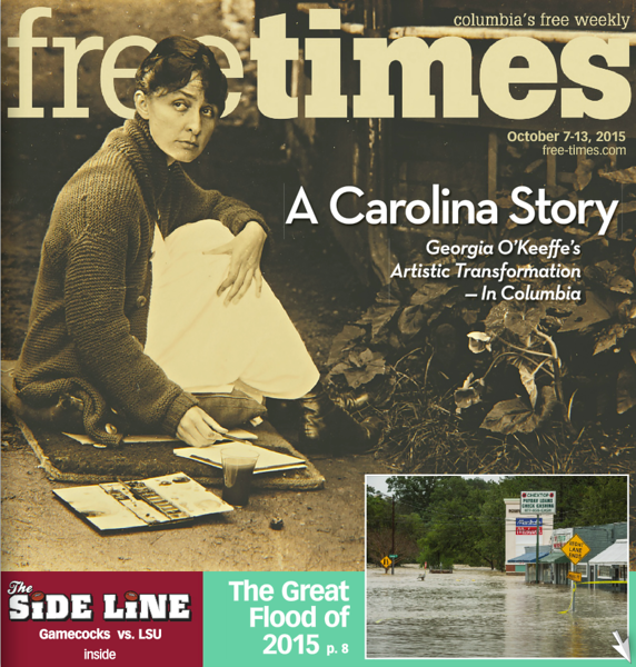 Cover Photo Free Times Oct. 7, 2015