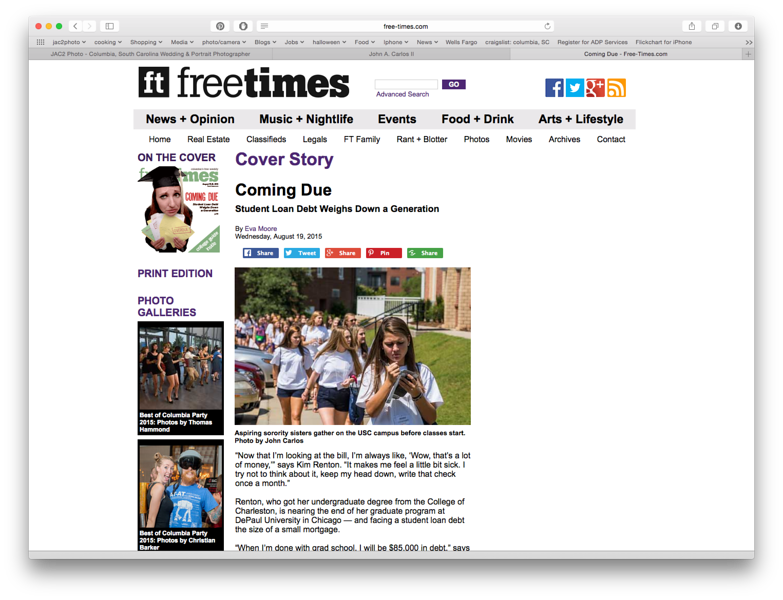Free Times Online 08/19/2015