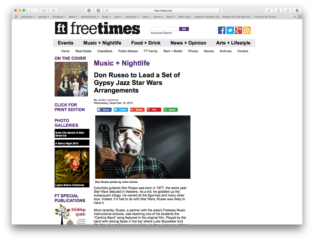 Free Times Online 12/16/2015