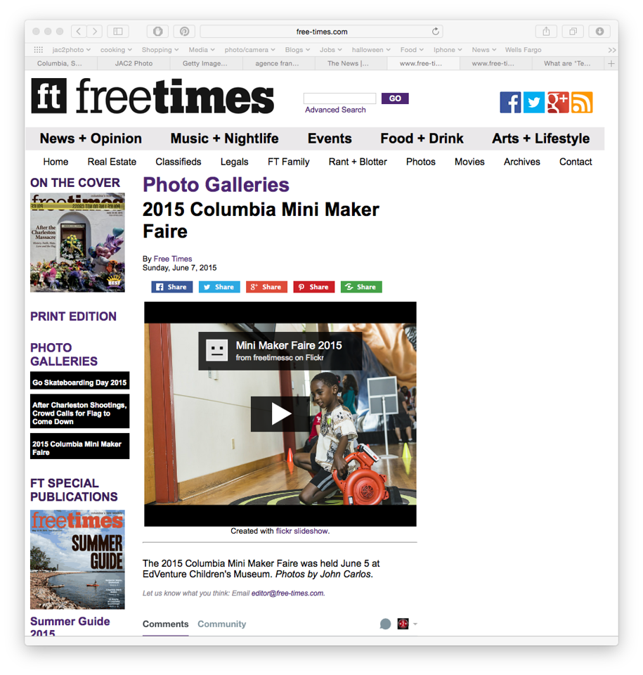 Free Times online June 7th 2015