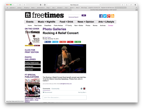 Free Times Online 11/16/2015