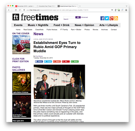 Free Times Online 11/24/2015