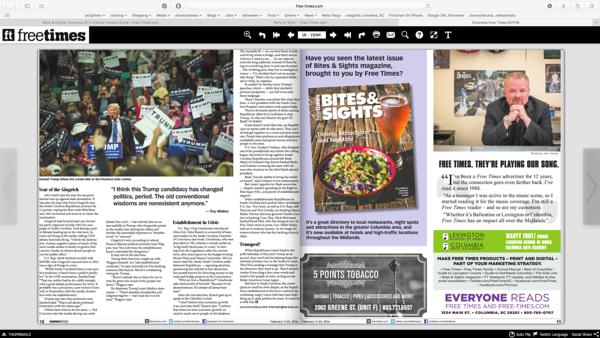 Free Times Newspaper 02/17/2016