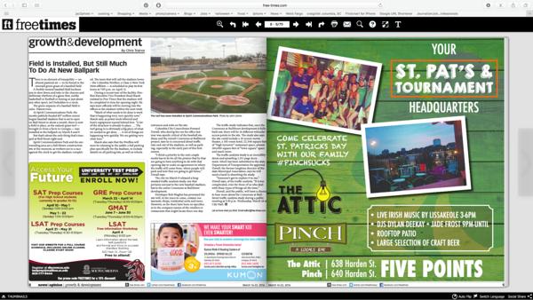 Free Times Newspaper 03/16/2016