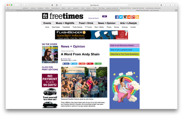 Free Times Online 05/11/2016