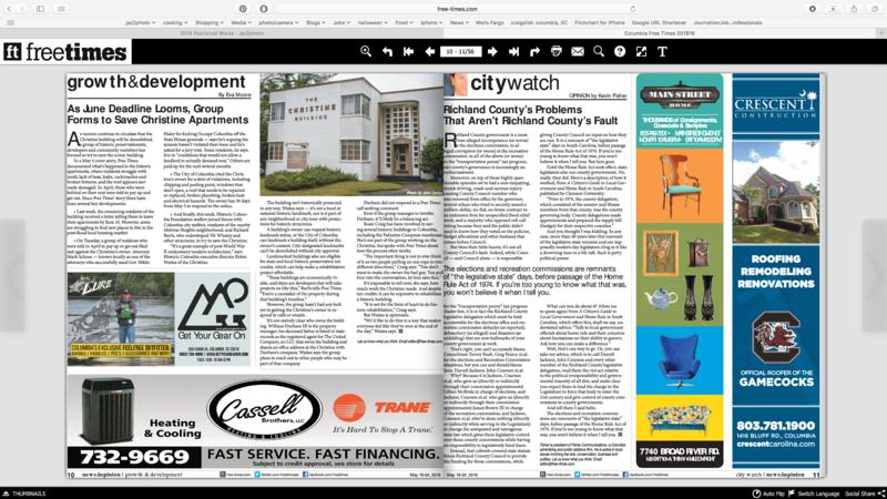 Free Times Newspaper 05/18/2016