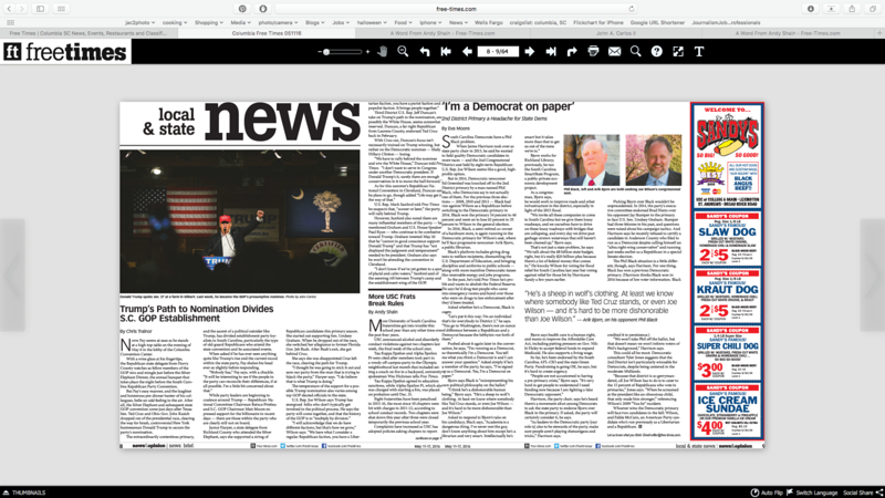 Free Times Newspaper 05/11/2016
