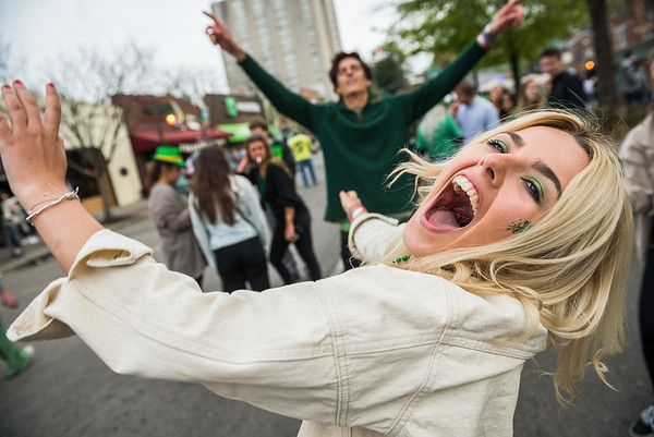 37th annual St. Pat's in Five Points, on March 17, 2019. John A. Carlos II / Special to The Free Times