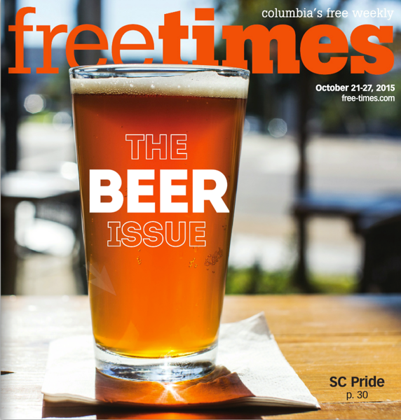 Cover Photo Free Times Oct. 21, 2015