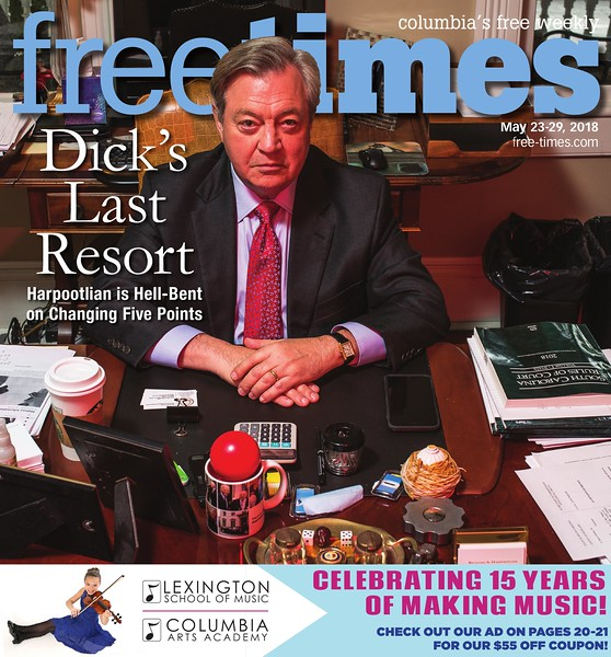 Free Times Cover for May 23, 2018