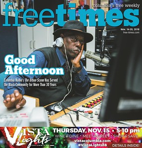 Free Times Cover for November 14, 2018