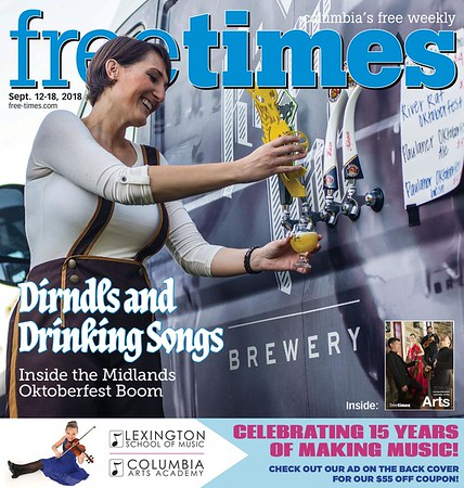 Free Times Cover for September 12, 2018