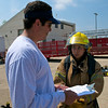 March 26, 2011 - LBJ Fire Academy field day at the Austin Fire Department training facility.