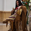 Christine Carpenter performs at the Levine Museum