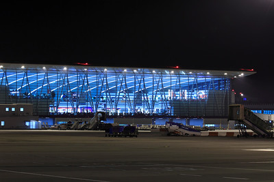SkyCourt from apron at Liszt Ferenc Int'l Airport, Budapest