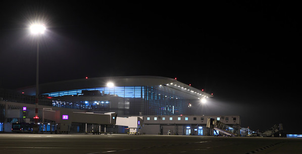 SkyCourt from Liszt Ferenc Int'l Airport (BUD) Terminal 2 apron