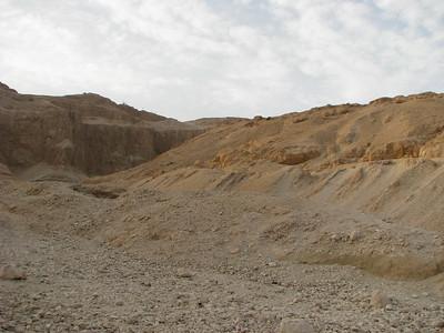 A sivatag Gurna fölött
