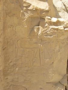 Egy beomlott sír reliefje
