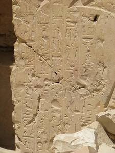 Egy beomlott sír felirata