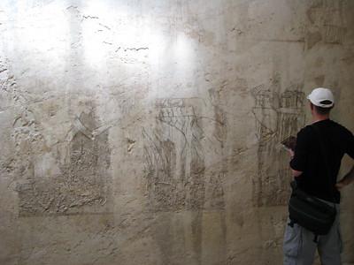 A külföldi követek hódolata Ramósze sírjának falán