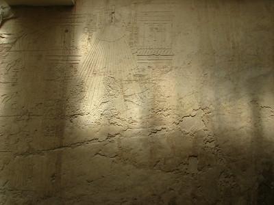 Echnaton kivakart alakja Ramósze sírjában