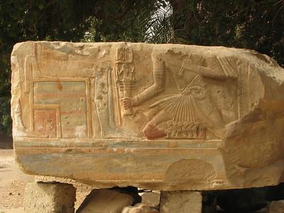 III. Amenhotep Amon előtt - még a színek is megmaradtak