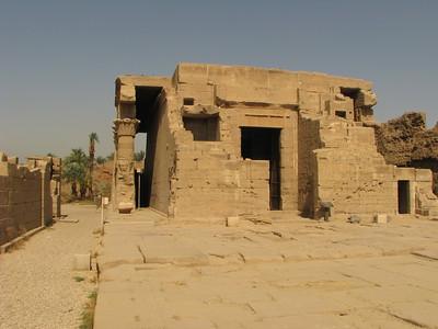 A római kori mammiszi keleti főhomlokzata