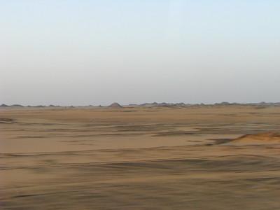 Úton Abu Szimbel felé