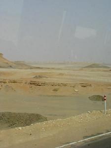 A Fehér-sivatag szélén