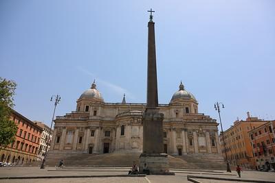 All'Esquilino(Santa Maria Maggiore) — Az Esquilino-dombon (Santa Maria Maggiore bazilika)
