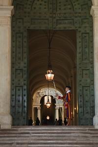 Entrance to the Holy See — A Szentszék egyik bejárata